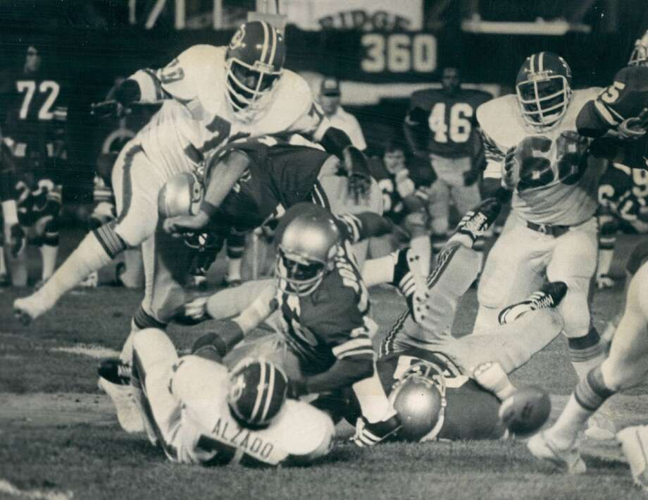 The first timeThe first game played between Seattle and Denver took place at the Seattle Kingdome on Oct. 2, 1977, the Hawks' second year in the league and first in the AFC. In that contest, Denver quarterback Craig Morton completed 12-of-21 passes for 181 yards, including a 47-yard touchdown pass to running back Rob Lytle. The Seattle quarterback on this day was Steve Myer, who went 20-for-29 with 165 yards, a TD and an interception.The Seahawks scored on a 43-yard touchdown to Hall-of-Fame wideout Steve Largent, who caught the pass on a trick play from running back David Sims. But ultimately, the Broncos pulled out a 24-13 victory in the inaugural game. Photo: John Preito, Denver Post Via Getty Images