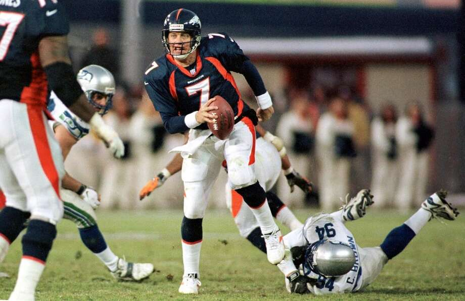 John ElwayYou can't talk about the history between these two teams without mentioning the Broncos Hall-of-Fame quarterback. Elway, a two-time Super Bowl champion, made a career out of picking apart opposing defenses, but his numbers against Seattle stand out.In 30 career games against the Seahawks, Elway was a nightmare for Seattle fans, throwing for 7,013 yards and 44 touchdowns. His 20 career victories against the Hawks are good for the second most against any opponent, trailing only the 21 wins he notched against the Chargers. Photo: MARK LEFFINGWELL, AFP/Getty Images