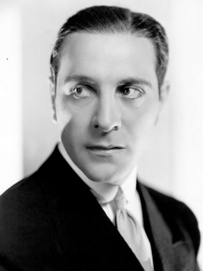 Ricardo Cortez -- remembered as an ersatz Valentino of the silent days, he was a terrific actor of the early sound era. Photo: Ernest Bachrach, Getty Images / Moviepix