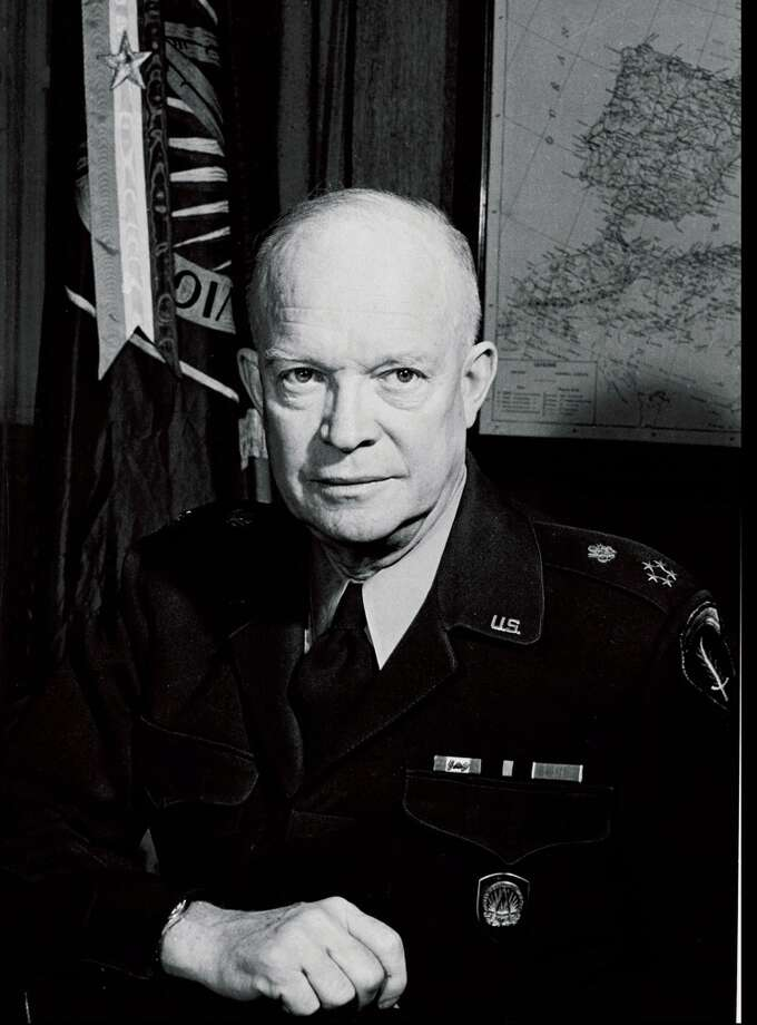 Ike -- underrated as president. Photo: NATO, Getty Images