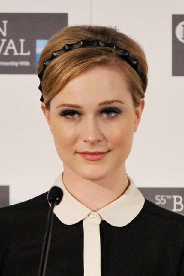 Evan Rachel Wood -- probably the best American actress under 30.  In another era, she'd be Greta Garbo. Photo: Gareth Cattermole / 2011 Getty Images