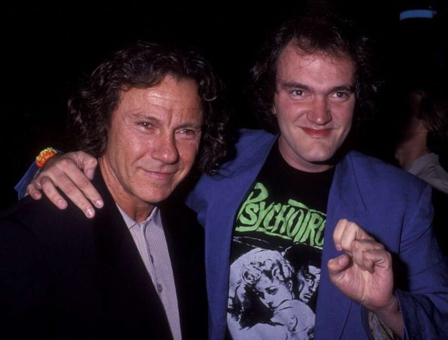 Harvey Keitel (with a very important friend in 1992) -- he gave some great unbound performances in films by Tarantino, Ferrara and Toback. Photo: Ron Galella, Ltd., WireImage / 1992 Ron Galella, Ltd.
