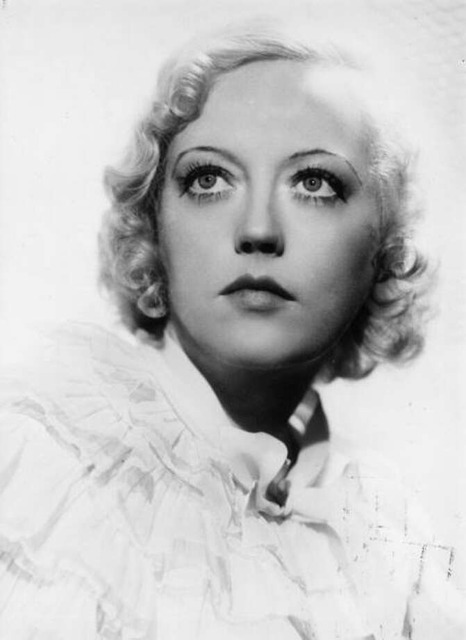 Marion Davies -- girlfriend of Hearst Corporation founder -- wonderful comic talent -- sometimes mistaken for being like the no-talent Susan Alexander in CITIZEN KANE.  She was the farthest thing from it. Photo: Margaret Chute, Getty Images / Moviepix