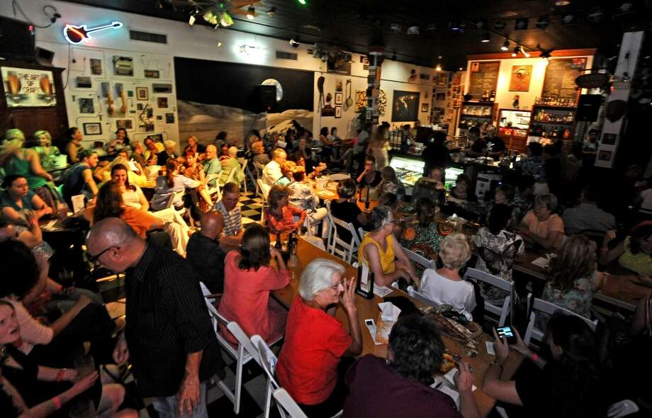 "Our cameras were at the Logon Cafe for Outside the Box's ""Love, Loss, and What I Wore,"" on Friday, August 23, 2013.  Did we see you there? Photo taken: Randy Edwards/The Enterprise Photo: Beaumont Enterprise"