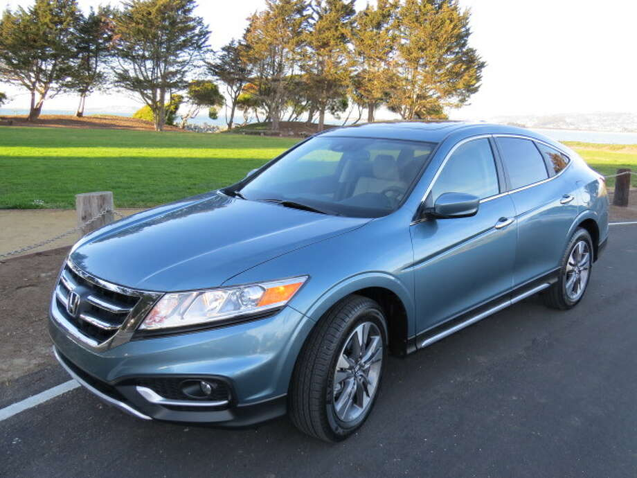 The 2014 Honda Crosstour is a cross between a sedan and a wagon and defies classification. Suffice to say, it carries a lot of gear, but has not been a big seller. (All photos by Michael Taylor)