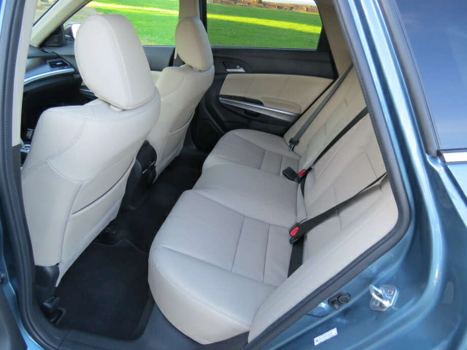 The rear seats fold down, giving you some 51 cubic feet of cargo space.