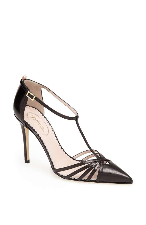 The SJP Carrie pump, in black. Photo: SJP Collection By Sarah Jessica Parker