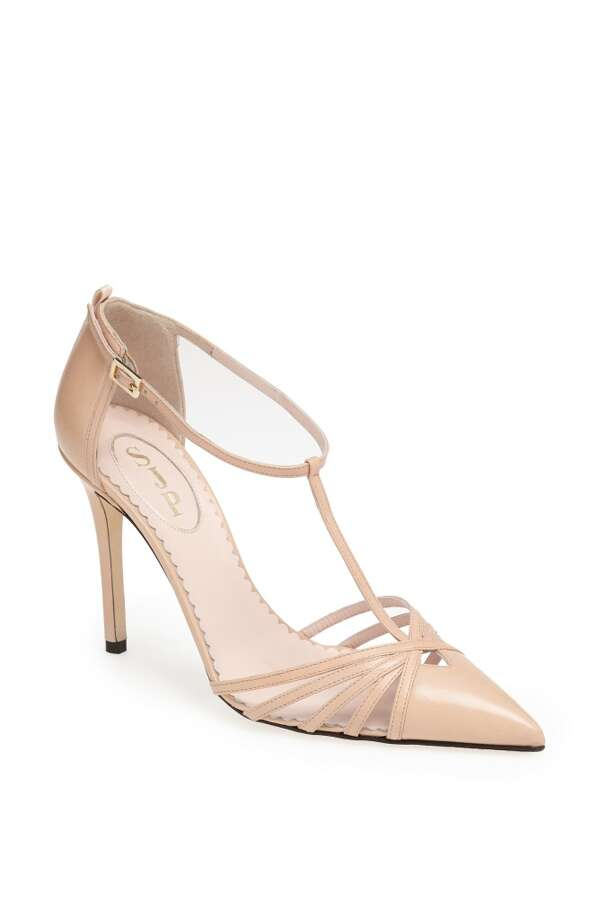SJP Carrie pump, in nude. Photo: SJP Collection By Sarah Jessica Parker