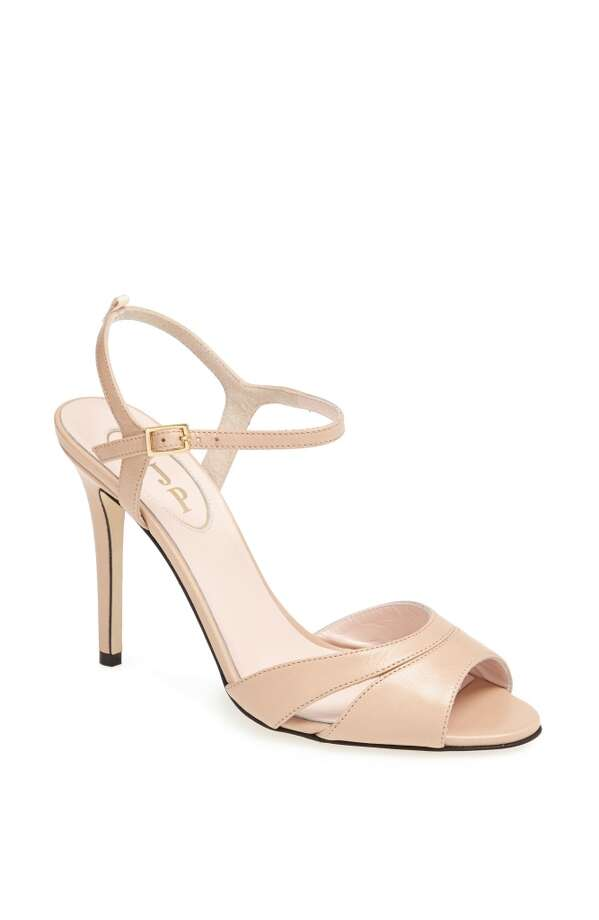 SJP Anna heel in nude Photo: SJP Collection By Sarah Jessica Parker