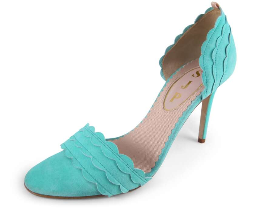 SJP Bobbie sandal in mint Photo: Image Courtesy Of NORDSTROM, Inc