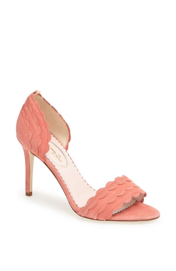 SJP bobbie pump in coral Photo: SJP Collection By Sarah Jessica Parker