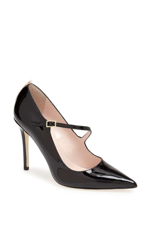 SJP Diana in black patent Photo: SJP Collection By Sarah Jessica Parker