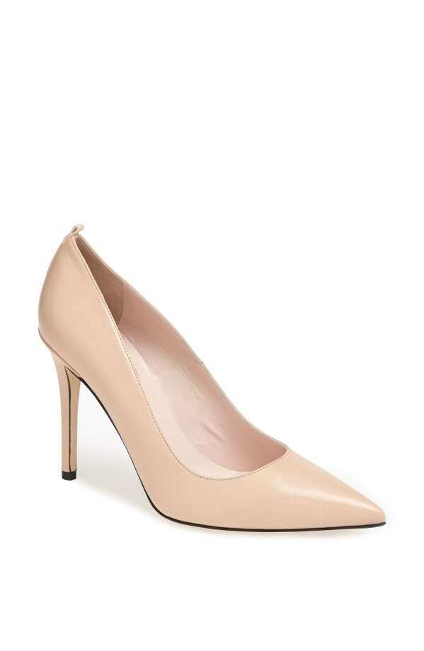 SJP Fawn pump in nude Photo: SJP Collection By Sarah Jessica Parker