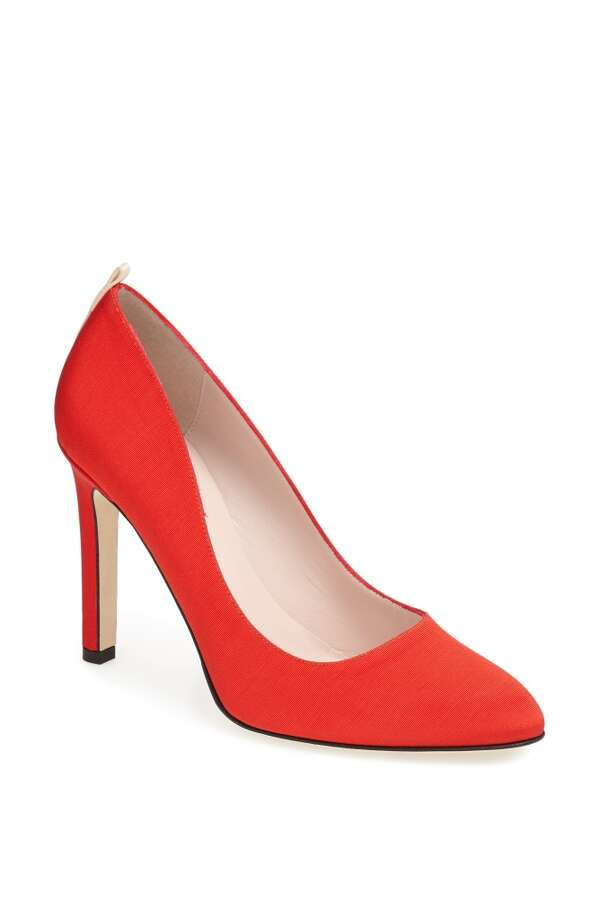 SJP Lady pump in red Photo: SJP Collection By Sarah Jessica Parker
