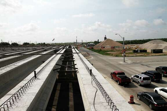 Construction started in 2012 on Interstate 45 S. and is expected to be completed in 2016. The Texas Department of Transportation is widening the freeway from Kurkland to FM 2351.