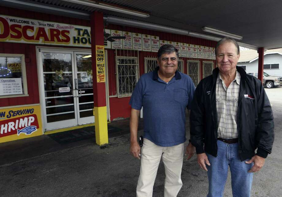 In the 1960s, Rick and Steve Garcia's father opened the ice house that became Oscar's Taco House. Photo: Helen L. Montoya / San Antonio Express-News / SAN ANTONIO EXPRESS-NEWS