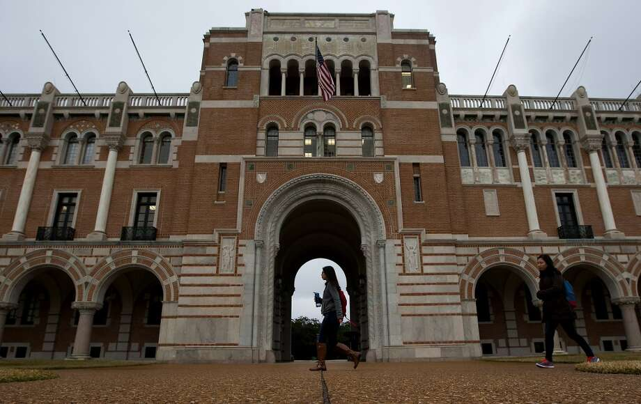 Rice University did well in this year's round of college rankings. (Cody Duty / Houston Chronicle) Photo: Cody Duty, Houston Chronicle
