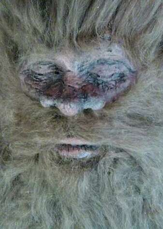 """Rick Dyer, 36, says he killed an 8-foot-tall Bigfoot in San Antonio in 2012 with a 30-06 rifle after he lured """"the Beast"""" near his tent with a set of Wal-Mart ribs he rubbed with a secret ingredient. Photo: Courtesy Rick Dyer"""
