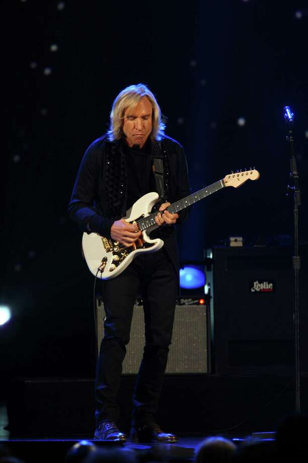 Joe Walsh performs at The Night that Changed America: A Grammy Salute to the Beatles, on Monday, Jan. 27, 2014, in Los Angeles. (Photo by Zach Cordner/Invision/AP) ORG XMIT: CAZC154 Photo: Zach Cordner, AP / Invision