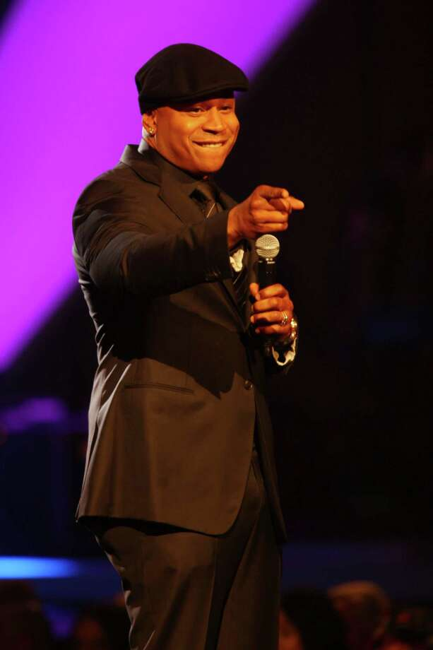 LL Cool J speaks on stage at the night that changed America: a Grammy salute to the Beatles, on Monday, Jan. 27, 2014, in Los Angeles. (Photo by Zach Cordner/Invision/AP) ORG XMIT: CABR107 Photo: Zach Cordner, AP / Invision