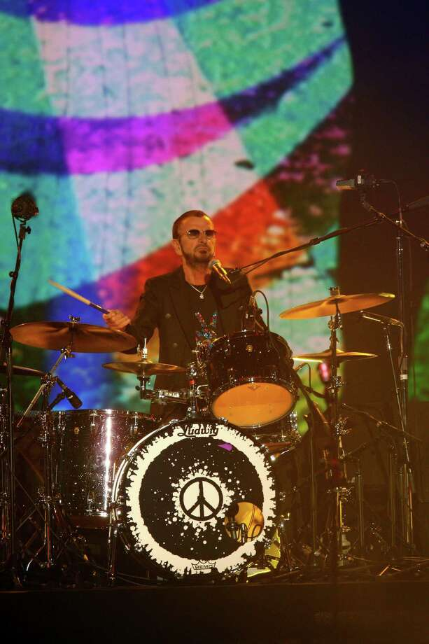 Ringo Starr performs at The Night That Changed America: a Grammy Salute to the Beatles, on Monday, Jan. 27, 2014, in Los Angeles. (Photo by Zach Cordner/Invision/AP) ORG XMIT: CAZC116 Photo: Zach Cordner, AP / Invision