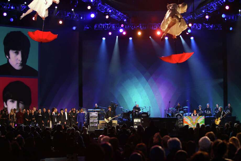 Paul McCartney performs at The Night that Changed America: A Grammy Salute to the Beatles, on Monday, Jan. 27, 2014, in Los Angeles. (Photo by Zach Cordner/Invision/AP) ORG XMIT: CAZC134 Photo: Zach Cordner, AP / Invision
