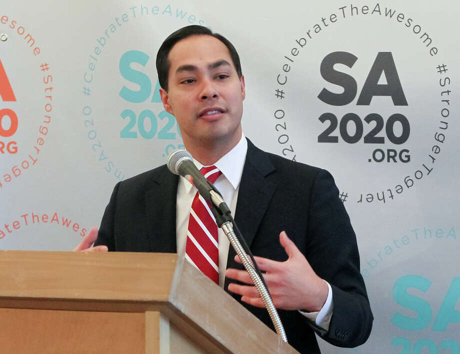 "Mayor Julián Castro's citywide initiative for improving the city by the year 2020 includes 12 ""cause"" areas. On Tuesday, he announced the latest target, volunteerism. Click ahead to see where San Antonio plans more improvement. Photo: MARVIN PFEIFFER, Marvin Pfeiffer/ Express-News / Express-News 2013"