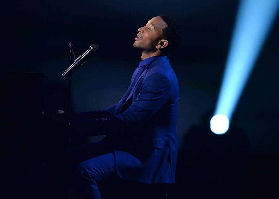 "Recording artist John Legend performs onstage during ""The Night That Changed America: A GRAMMY Salute To The Beatles"" at the Los Angeles Convention Center on January 27, 2014 in Los Angeles, California. Photo: Kevin Winter, Getty Images For NARAS"
