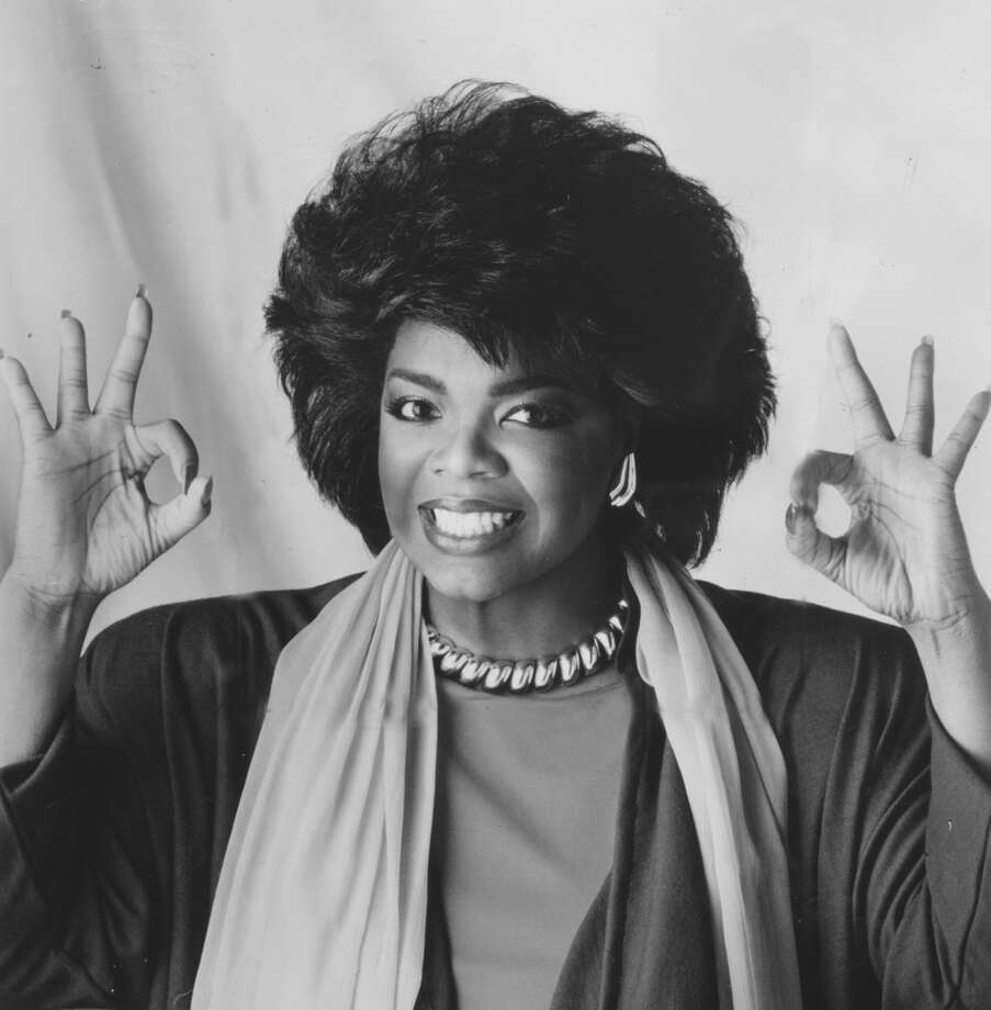 Winfrey hosts the television show 'People Are Talking,' 1978. Photo: Afro Newspaper/Gado, Getty Images