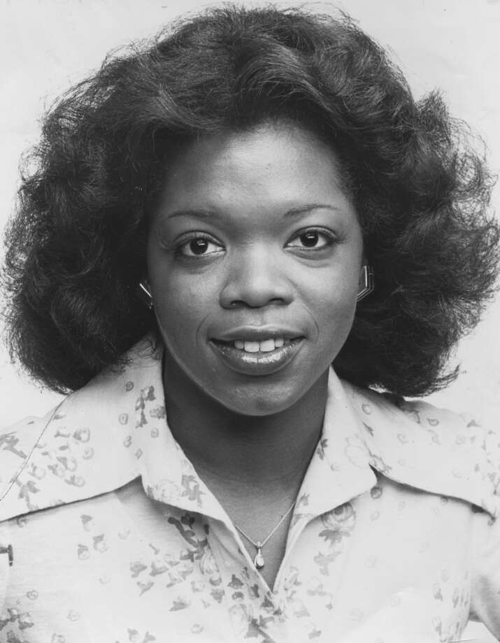 A portrait of Oprah Winfrey upon becoming co anchor of Eyewitness News on WJZ, with co host Jerry Turner, Baltimore, Maryland, 1978. Photo: Afro Newspaper/Gado, Getty Images