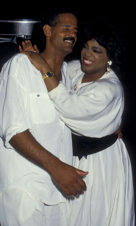 Winfrey and Steadman Graham in 1987. Photo: Ron Galella, WireImage
