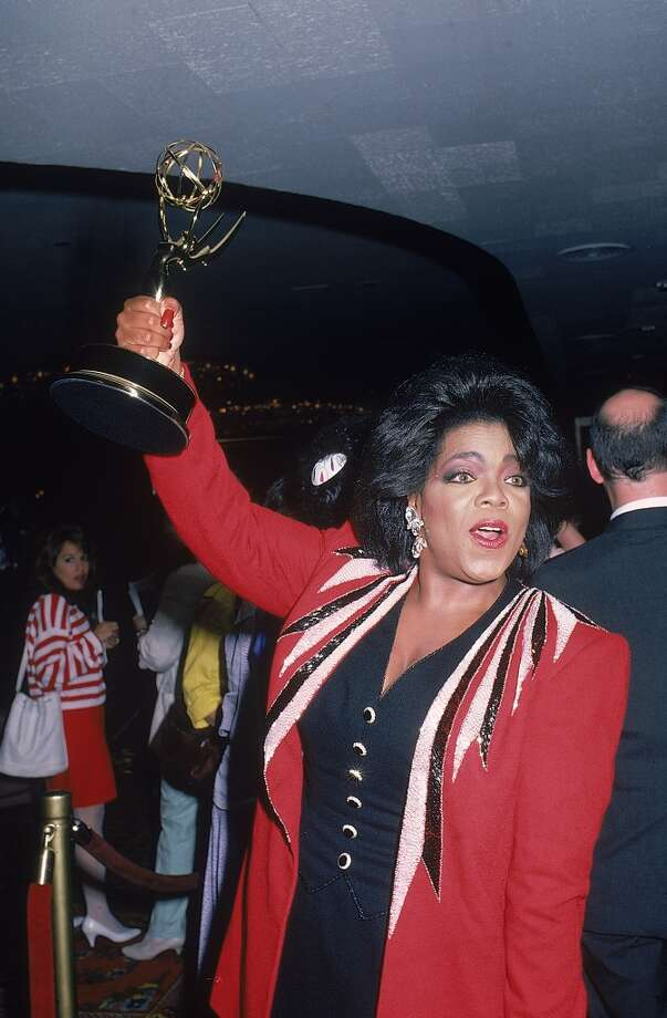 With a Daytime Emmy in 1987. Photo: Time Life Pictures, Time & Life Pictures/Getty Image