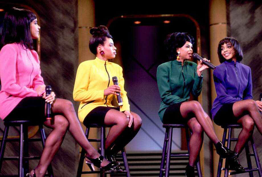 En Vogue as guests on the Oprah Winfrey Show in 1991. Photo: Paul Natkin, WireImage