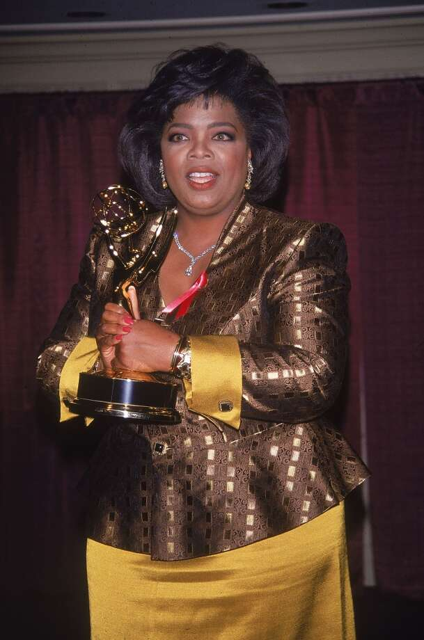 With an Emmy Award in 1992. Photo: DMI, Time & Life Pictures/Getty Image