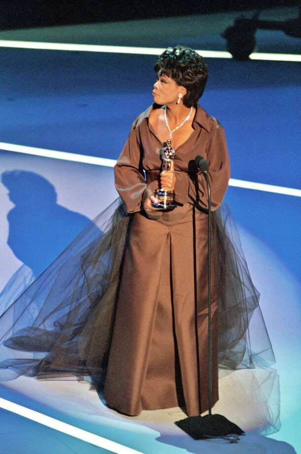 Winfrey at the 1995 Academy Awards. Photo: Jeff Kravitz, FilmMagic, Inc