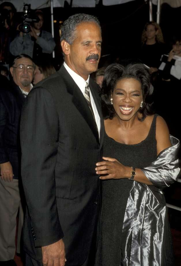 With Stedman Graham in 1998/ Photo: Ron Galella, WireImage