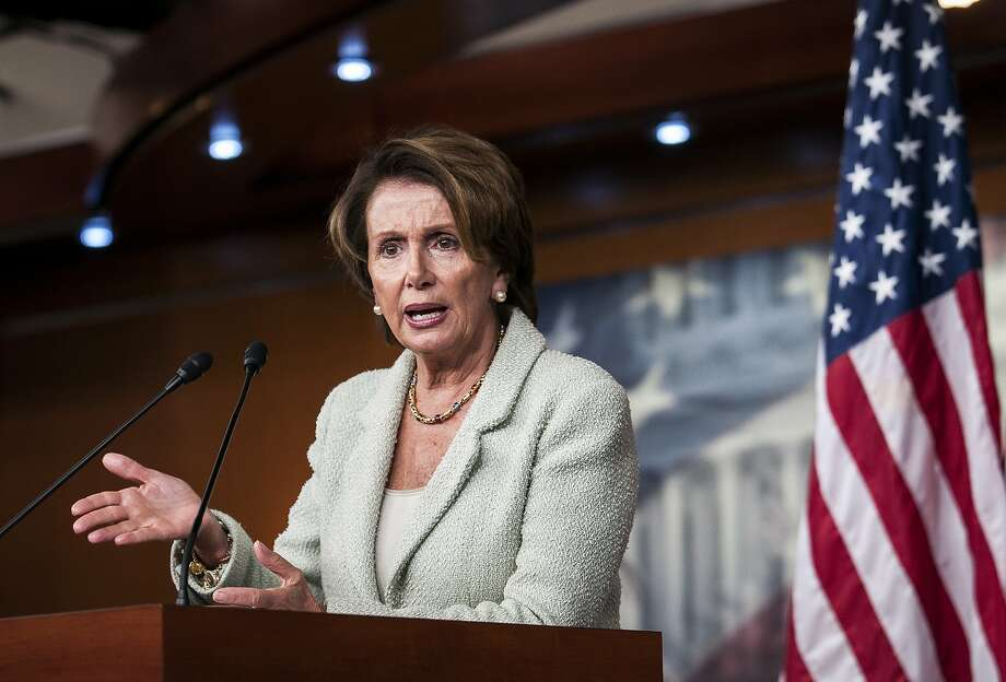 House Minority Leader Nancy Pelosi, D-San Francisco, has proposed raising the federal minimum wage to $10.10. Photo: Gabriella Demczuk, New York Times