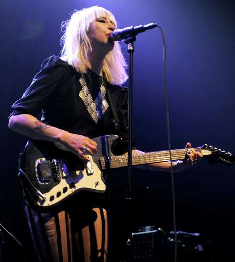 """Dee Dee Penny and the Dum Dum Girls offer winning tunes on """"Too True."""" Photo: Getty Images File Photo / 2012 Tim Mosenfelder"""