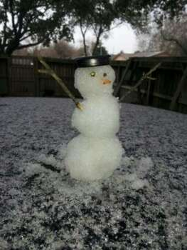 Snowman (Photo by Patricia Sanchez)