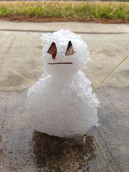 Snowman submitted by reader