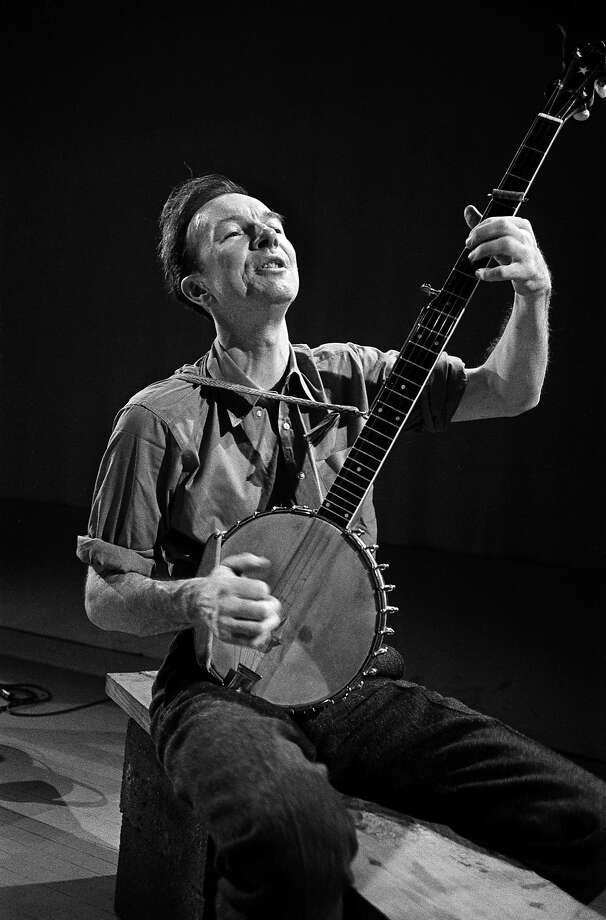 Pete Seeger, 1919-2014: The folk musician and activist died on Jan. 27 at age 94. Photo: Sam Falk, New York Times