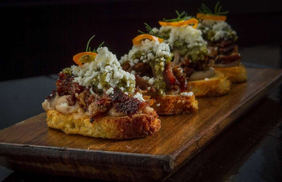 The huaraches de carnitas are a must-order. Photo: John Storey, Special To The Chronicle