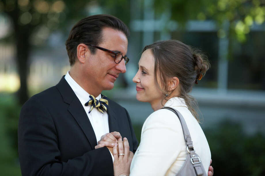 George (Andy Garcia) and Edith (Vera Farmiga) - each with his and her respective young-adult child in tow - find themselves falling in love during a college tour. Photo: --