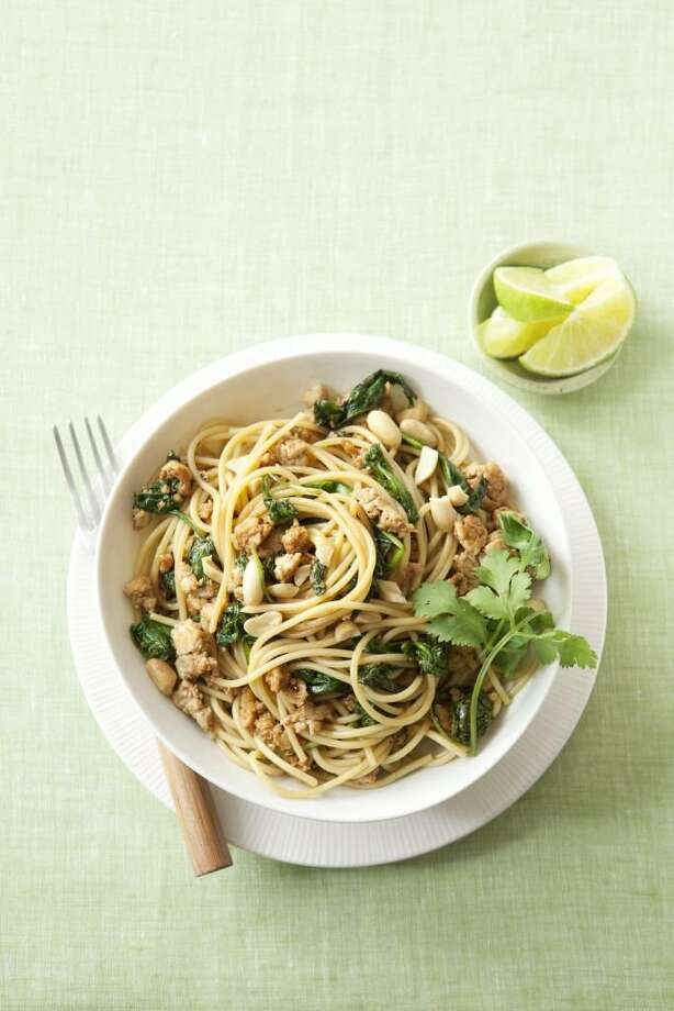 Spicy Szechuan Noodles, fFrom Good Housekeeping Photo: Kate Sears