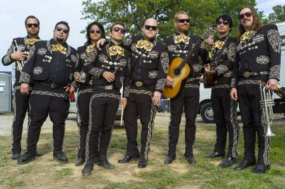 Mariachi El Bronx: Saturday, May 31 at 1:20 p.m.Saturn Stage The Bronx is a punk band from California. Mariachi El Bronx is that same punk band putting its red-eyed energy into mariachi music. Photo: C. Taylor Crothers, FilmMagic / 2012 C. Taylor Crothers
