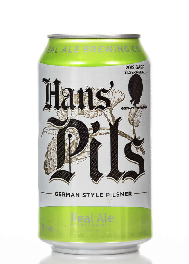 Hans' Pils from Real Ale Brewing would make a nice match for Buffalo Fried Shrimp. Photo: Real Ale Brewing, Photographer / © 1992 - 2013 Craig Whisenhunt