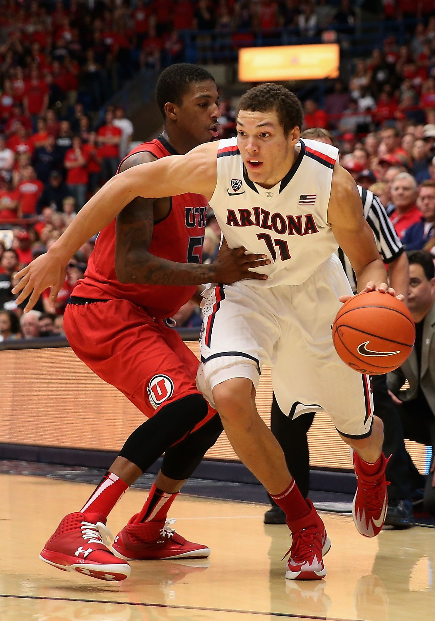 premium selection 044e6 3842b Aaron Gordon, No. 1 Arizona play at Stanford - SFGate