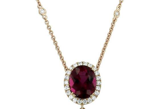 Pieces from Yael Designs' new Morganite collection combine Brazilian pink emeralds and white gold for a romantic look.
