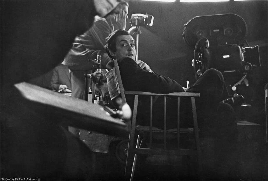 American director and screenwriter Stanley Kubrick  on the set of his film 'Dr. Strangelove or: How I Learned to Stop Worrying and Love the Bomb' at Shepperton Studios, in the UK, 1963. Photo: Columbia Pictures, Getty Images