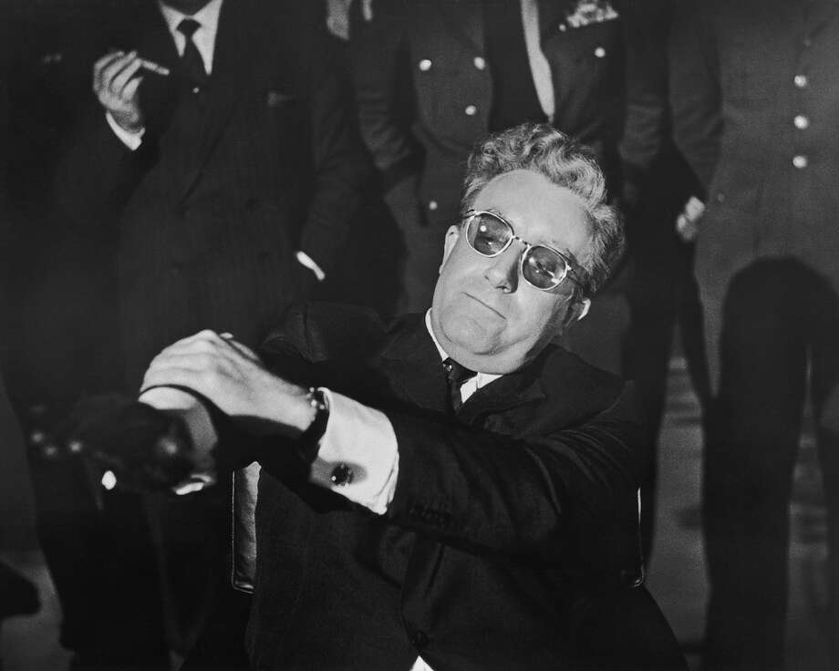 English actor Peter Sellers in the title role of 'Dr. Strangelove.' Photo: Silver Screen Collection, Getty Images